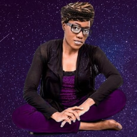 Na'Kole with Purple Space Background